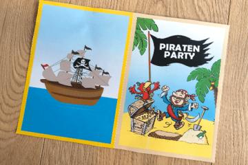 DIY Piraten Einladung zum Ausdrucken