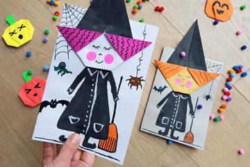 DIY Hexen für Halloween Party