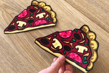 Einladung zum Pizzaessen</br> als PDF downloaden