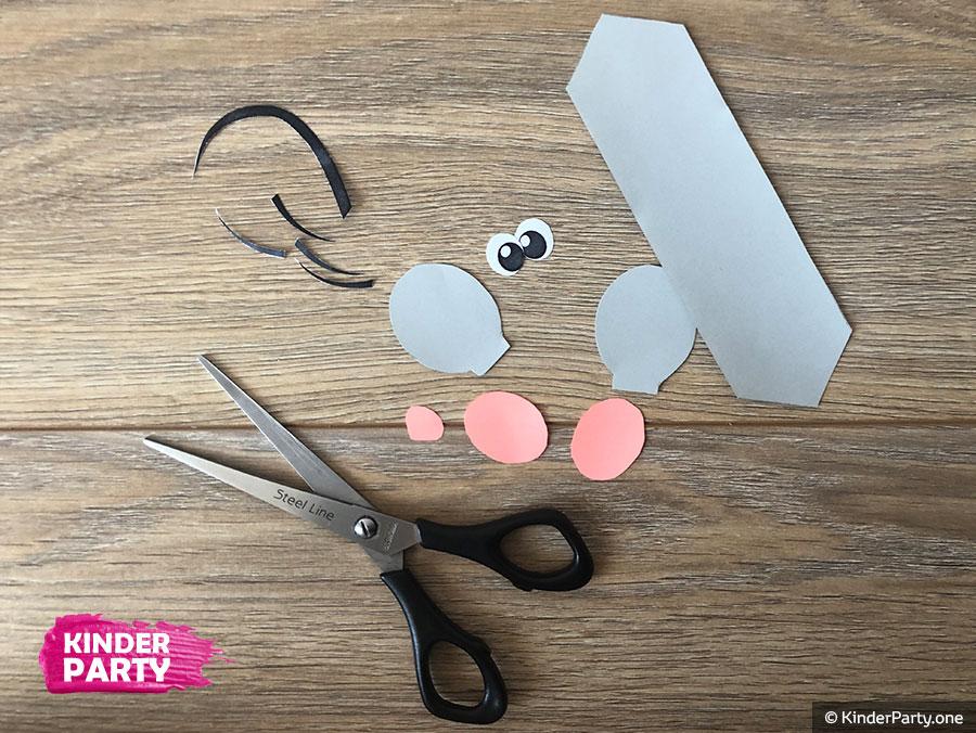 DIY Anleitung für Papier-Maus