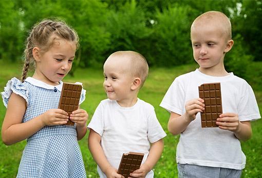 Schokoladen Wettessen
