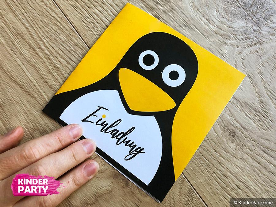 wir basteln süße Pinguin