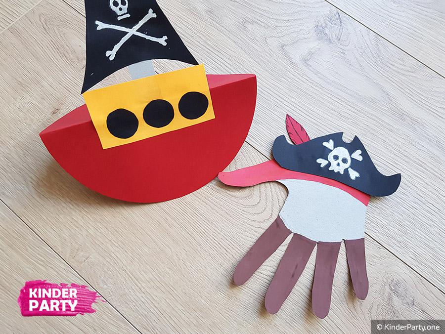 Anleitung für Piratenschiff