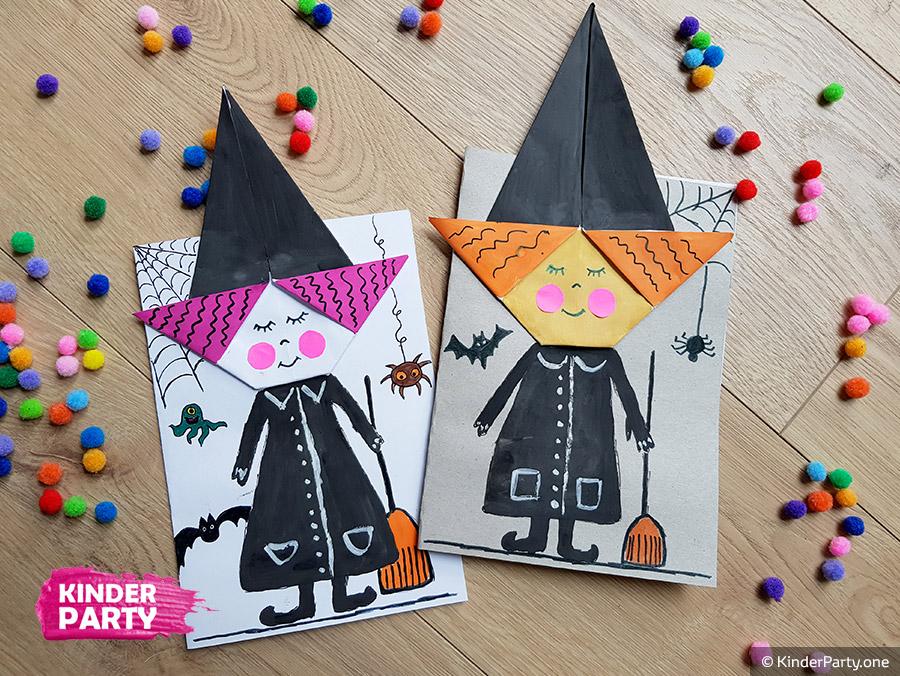 Hexe für Halloween gestalten